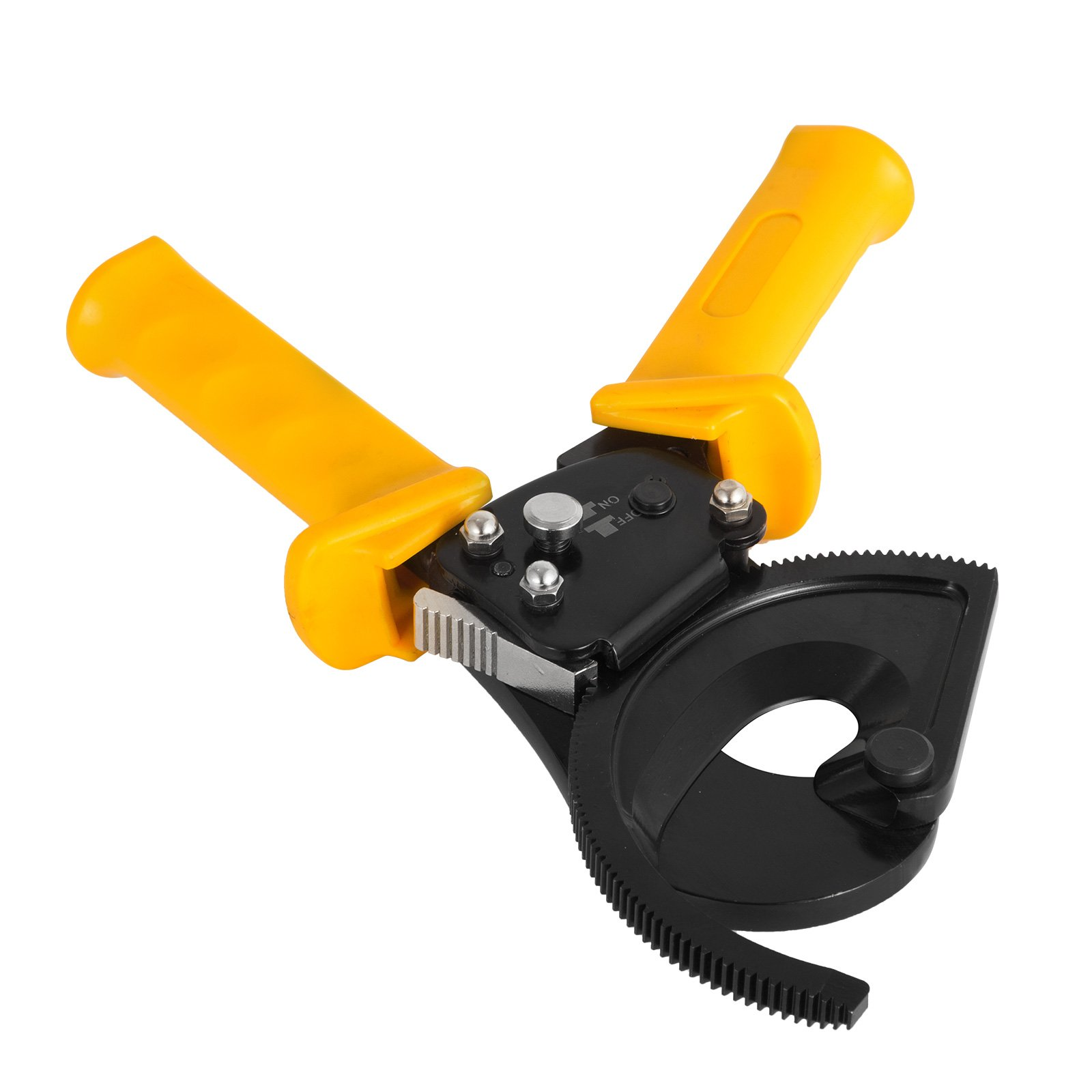 DeEtt Cable Cutter 300mm2 Wire Cutter Ratchet Cable Cutter Mechanical High Carbon Steel For Cutting Copper And Aluminum Cable