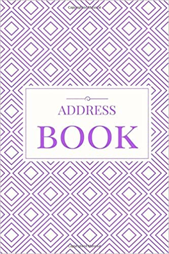 amazon com purple address book for contacts addresses phone