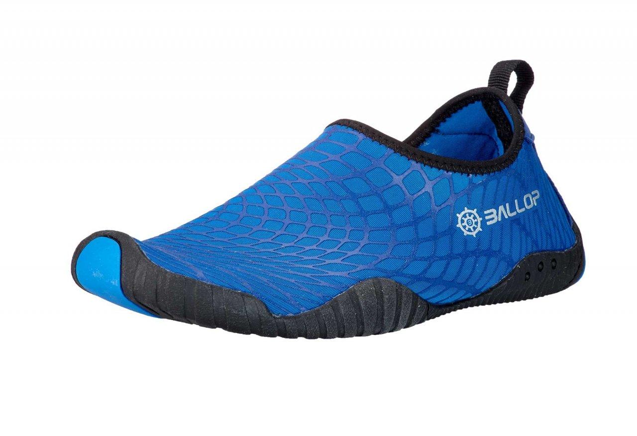 Ballop Actos Aqua Shoes Skin Shoes Fitness Shoes Swim Shoes Yoga Shoes Spider Blue (V2) L Size