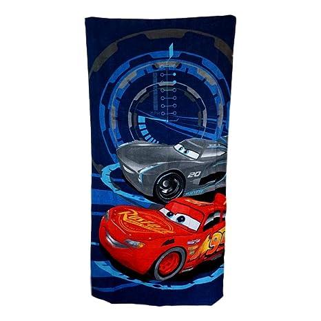 LIGHTNING McQUEEN BATH BEACH SWIM POOL TOWEL ~ Disney Cars