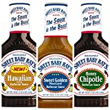 Sweet Baby Ray's Barbeque Sauce Variety Pack 18 oz (Pack of 3)