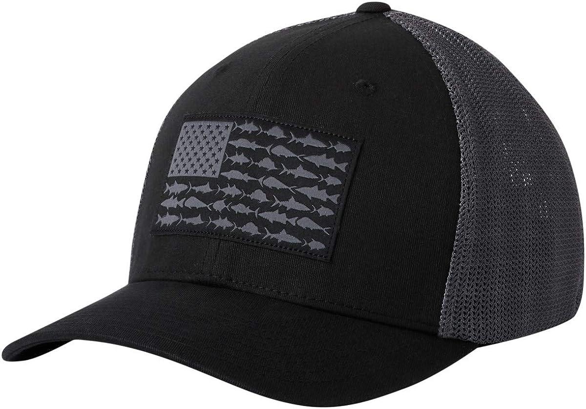 Columbia PFG Mesh Fish Flag Stretch-Fit Hat