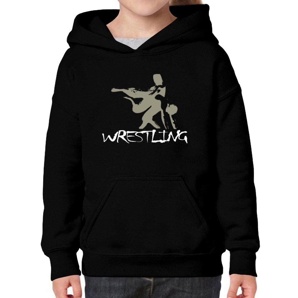 Teeburon Wrestling Girl Hoodie