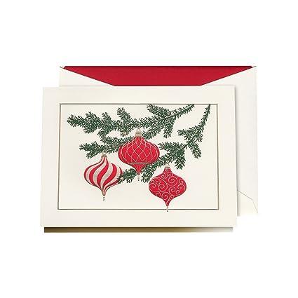 Crane co elegant ornaments greeting card 10 cards 10 envelopes crane co elegant ornaments greeting card 10 cards 10 envelopes kn9529v m4hsunfo
