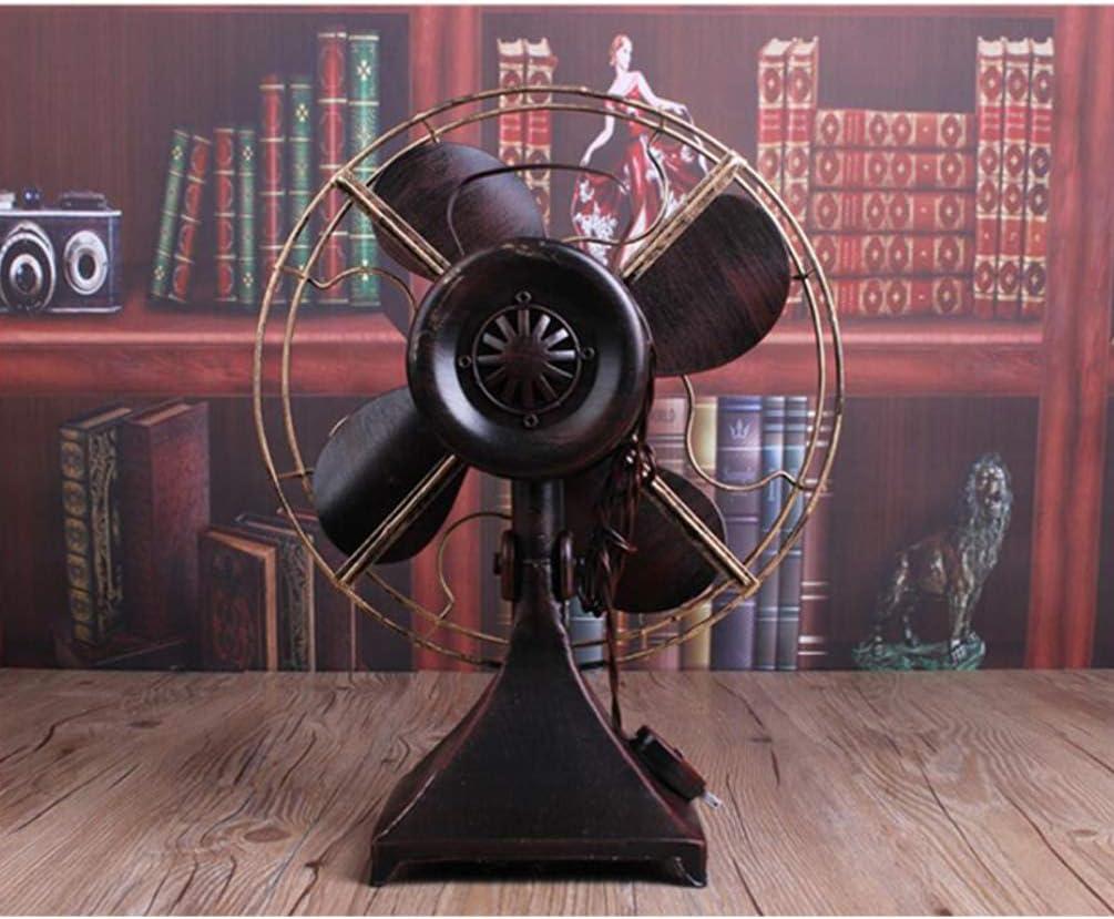 Iron Vintage Standing Fan