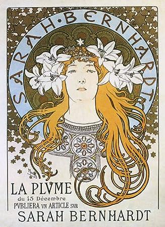 Amazon.com: 1896 Sarah Bernhardt Teatro de la Plume Show ...