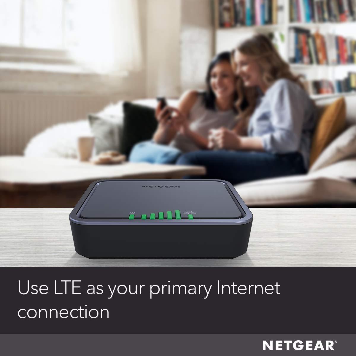 NETGEAR 4G LTE Broadband Modem  Use LTE as primary Internet Connection LB1120
