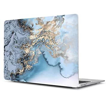TwoL Carcasa MacBook Pro 13 2017 2018, Ultra Delgado Carcasa Rígida Protector de Plástico para MacBook Pro 13 A1706 A1708 A1989 Earth
