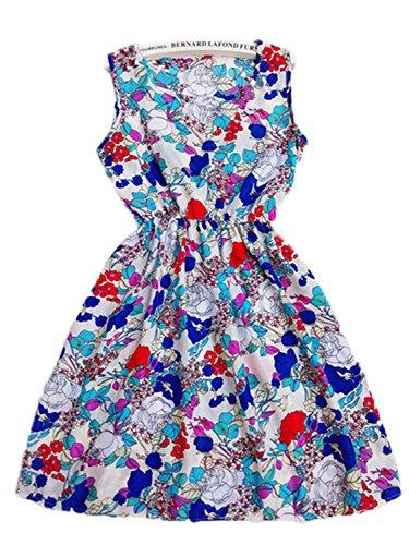 Ygosoon Summer Women Sexy Chiffon Dress Beach Tank Fashion Dresses S M L XL XXL 11 M