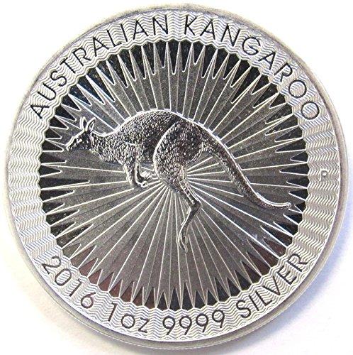 2016 AU Perth Mint Silver Kangaroo 1 oz Brilliant Uncirculated