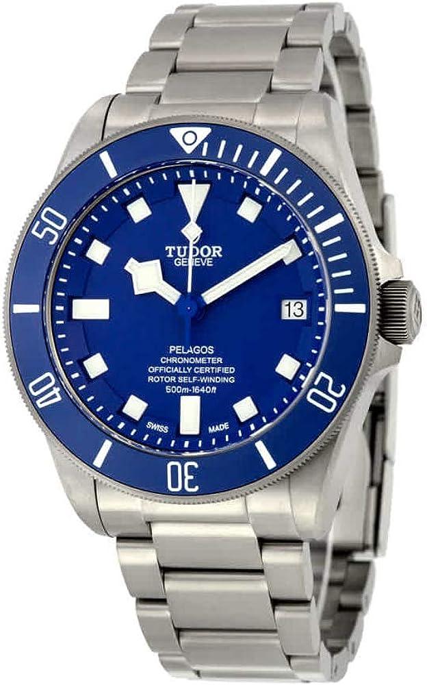 Tudor Pelagos Blue Dial Automatic Mens Watch 25600TB-BLRS