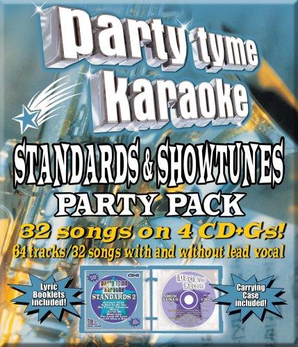 Party Tyme Karaoke - Standards & Show Tunes Party Pack (32+32-song Par [4 CD] (Par Pack)