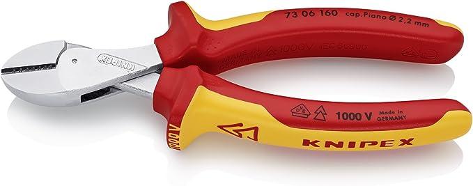 KNIPEX 13 01 160 électriciens/'s Pince Noir atramentized couché plastique 160 mm
