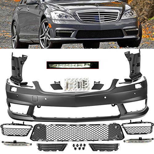 2007-2013 MB S Class W221 Front Fascia Bumper Cover AMG Style Body Kit
