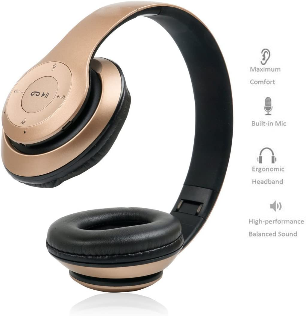 Noise Cancelling Professional Game Earphone Over-Ear headphones with 7.1 Surround Stereo Sound,Wired Music headphone built in Mic LED Light for PC Computer Laptop MUEQU Gaming Headset Black