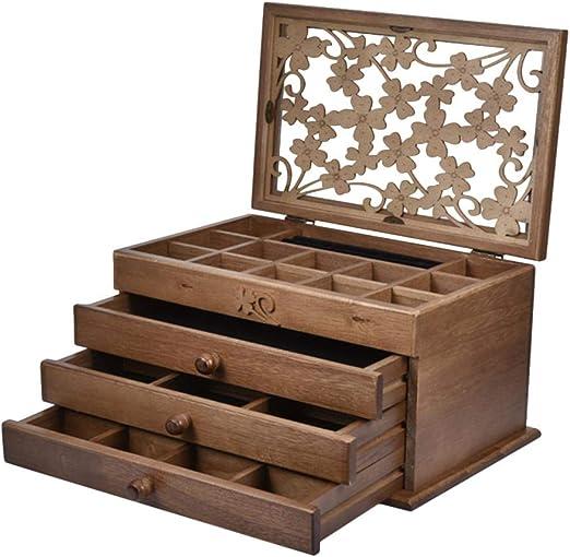 Caja madera joyero
