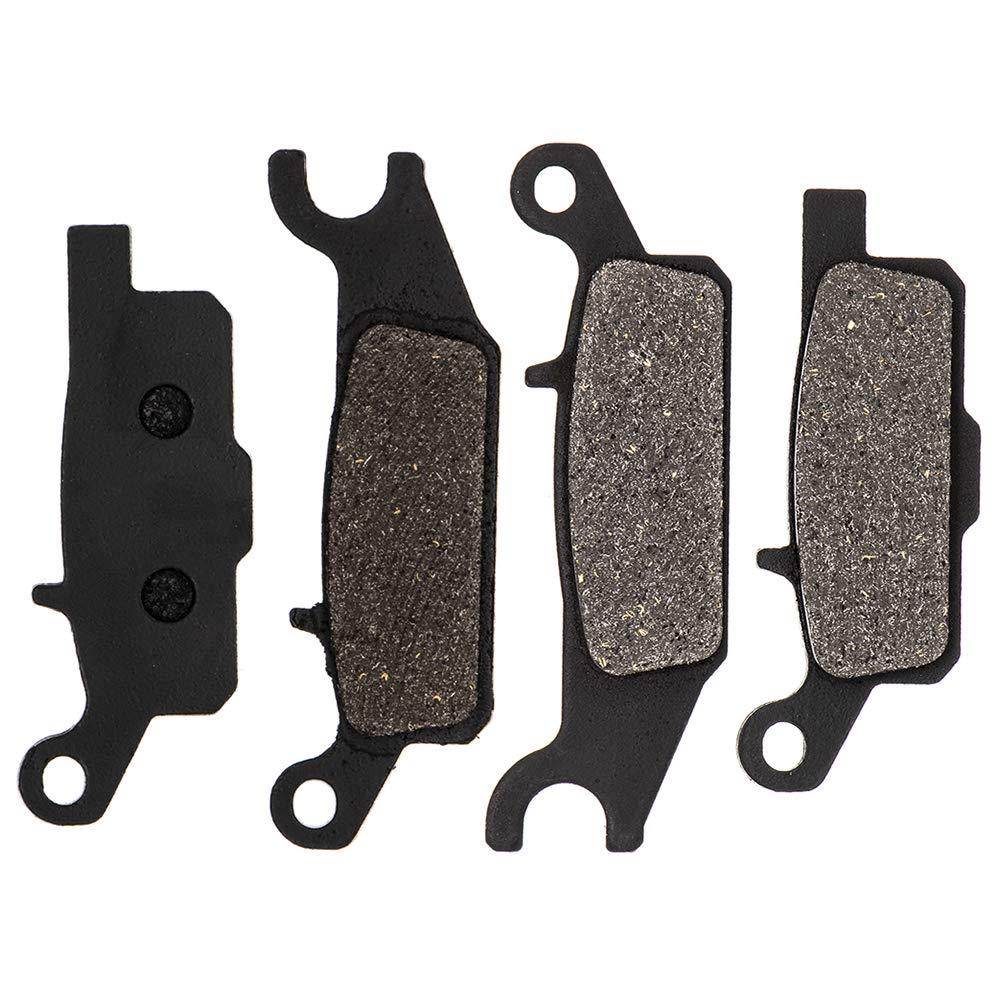 8TEN Semi-Metallic Front Brake Pad Kit 2007-2019 Yamaha Grizzly Raptor Kodiak 550 700 250 3B4-W0045-00-00 3B4-W0045-10
