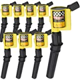 High Performance Ignition Coil 8 Pack -Upgrade 15% More Energy For Ford F-150 F-250 F-350 4.6L 5.4L V8 CROWN VICTORIA…
