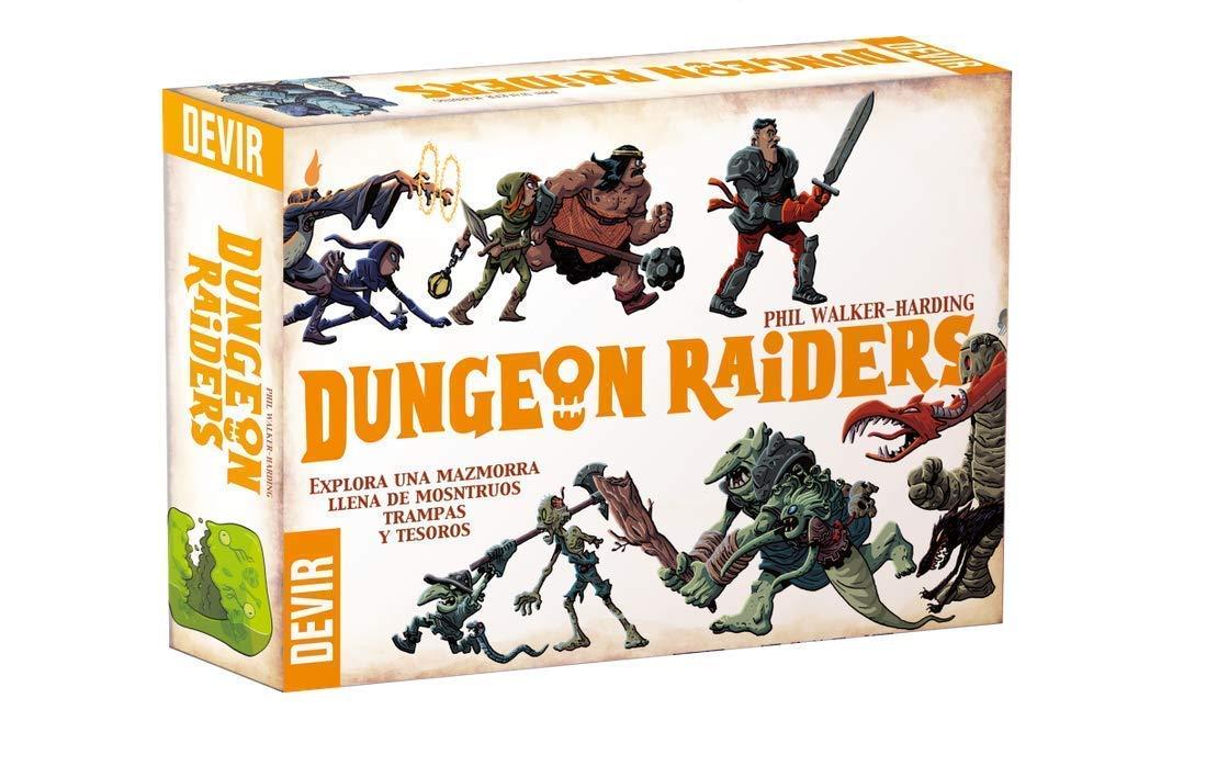 Devir - Dungeon Raiders, Game - EN