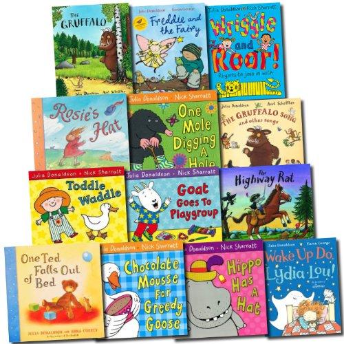 Julia Donaldson Gruffalo Collection 13 Books Set Gruffalo, Highway ...