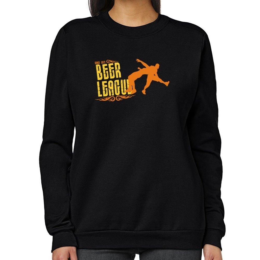 Teeburon Wrestling BEER LEAGUE SINCE 1972 Women Sweatshirt