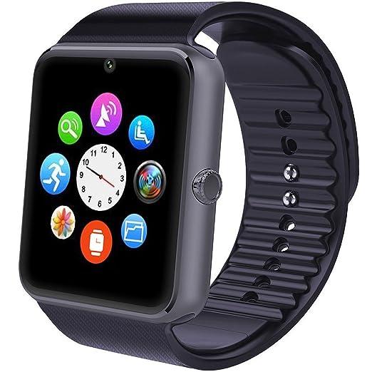 284 opinioni per Smartwatch Android, Willful Smart Watch Telefono con SIM Card Slot Fotocamera