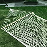 This Products is proud to present this brand new Cotton Rope Hammock. Whenever you feel like relaxing and lounging around in your backyard or patio, our cotton rope hammock is the best accessory for your needs. The rope hammock is made of 900 feet of...