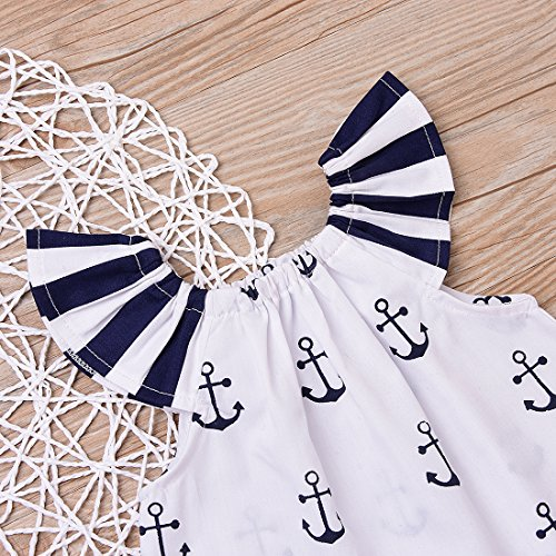 Infant-Baby-Girls-Off-Should-Anchor-TopsStriped-Briefs-Outfits-Set-Sunsuit-Clothes