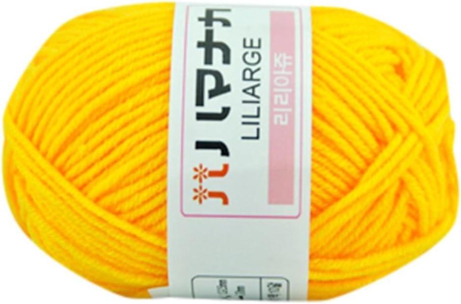 Ovillo de lana Winkey para tejer a mano de algodón grueso de 25 g E: Amazon.es: Hogar