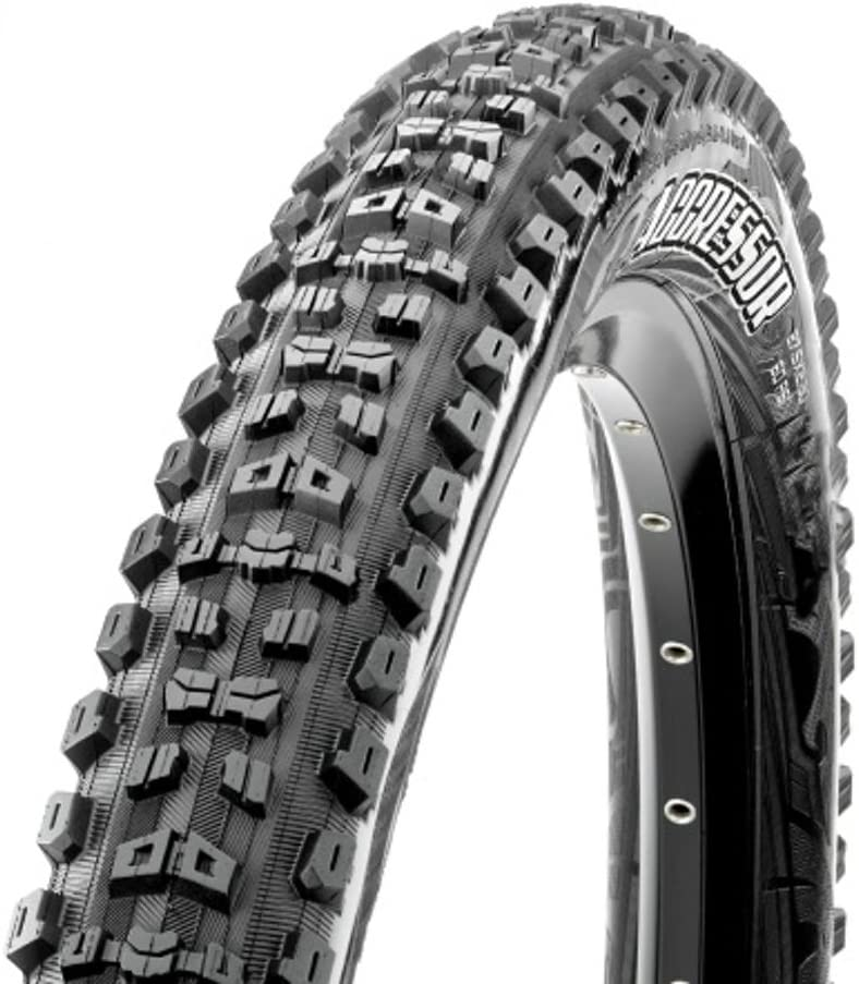 Maxxis Aggressor Folding Dual Compound Exo/tr Tyre - Black, 27.5 x 2.50-Inch