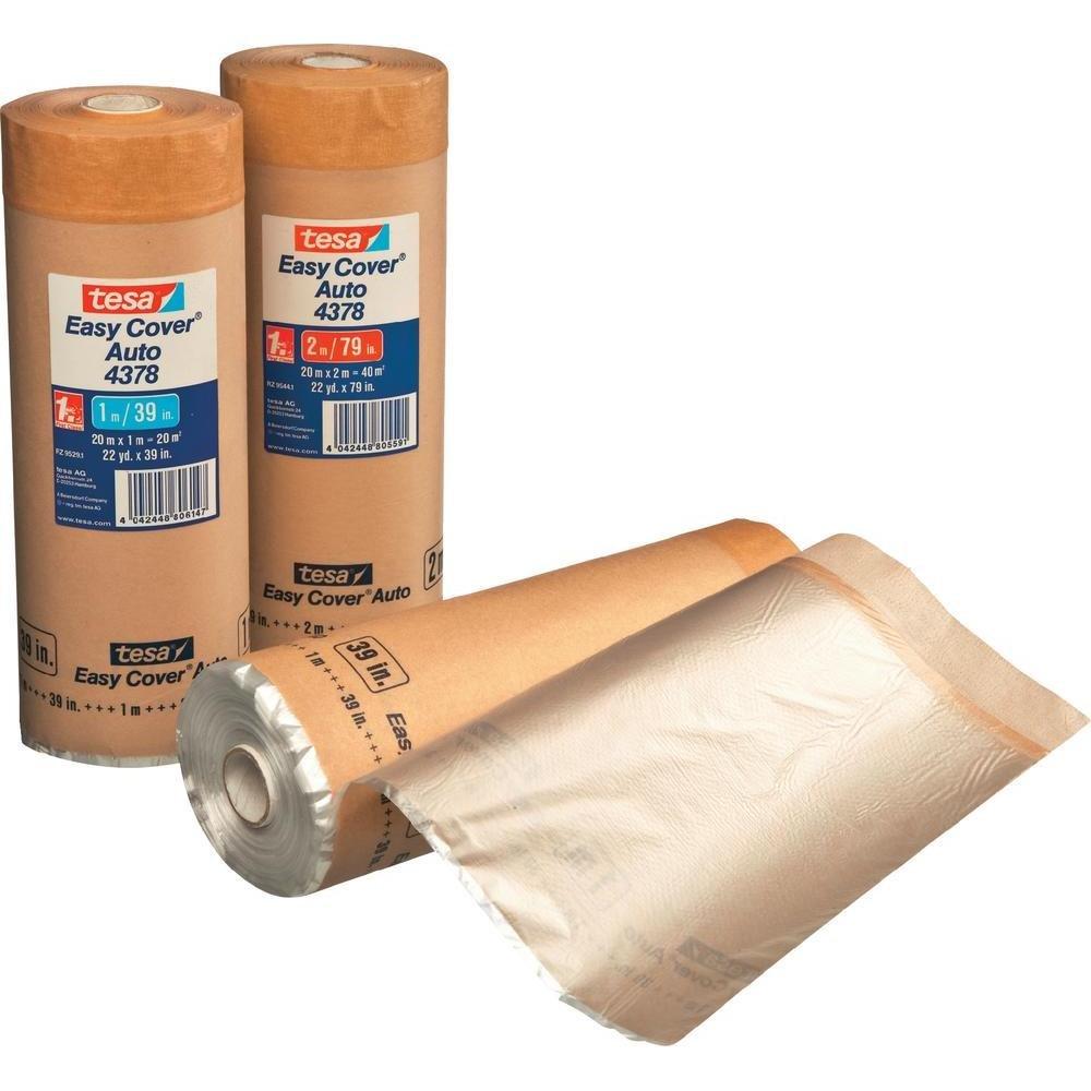 tesa Kreppband Easy Cover® 4378 Braun (L x B) 20m x 1m 04378-00003-01 1 Rolle(n)