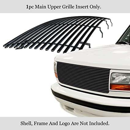 APS Compatible with 1992-1996 Ford Bronco F-150 F-250 F-350 Main Upper Billet Grille F85007A