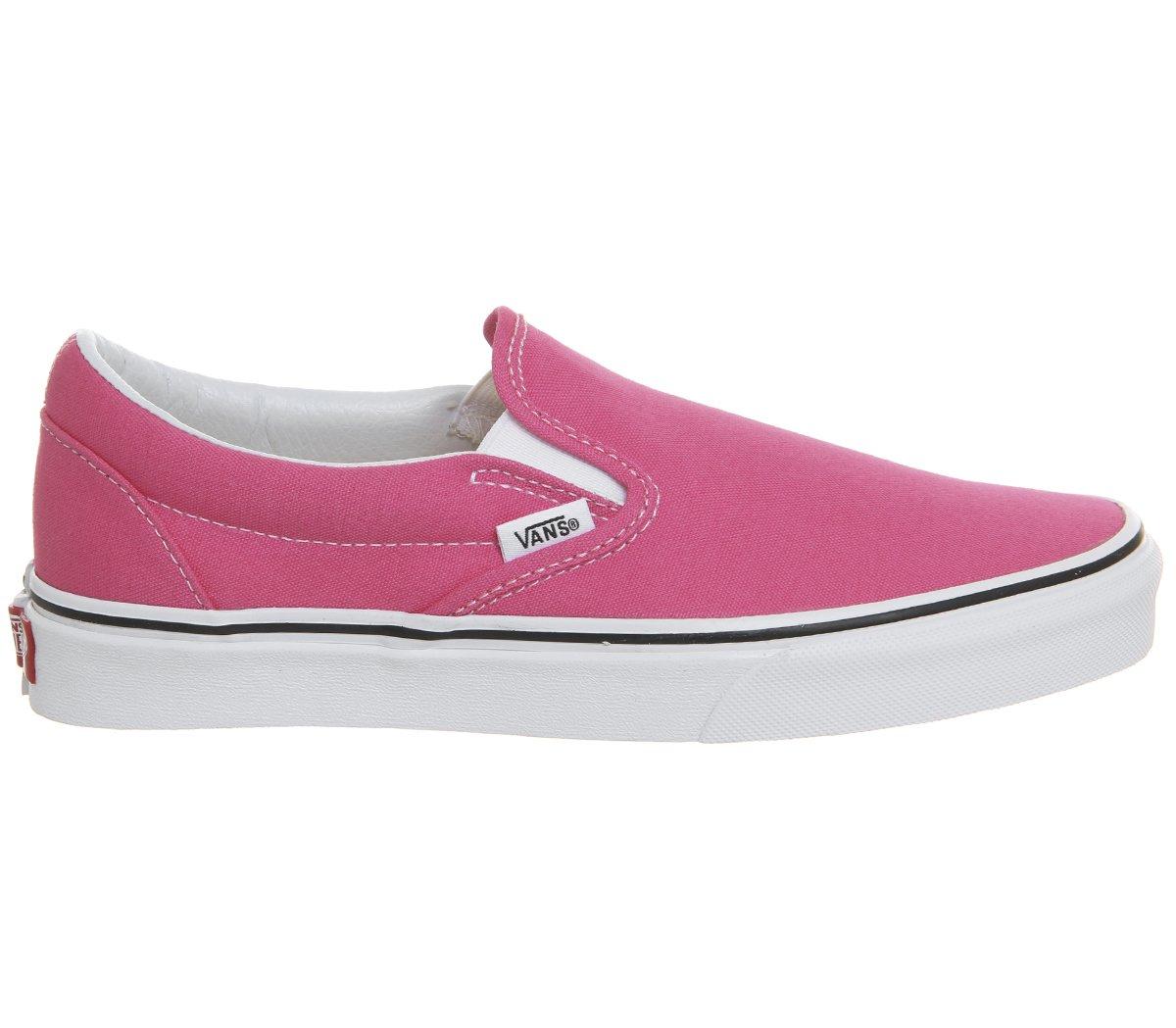 Vans Unisex-Erwachsene Classic Slip-on Slipper  40.5 EU|Hot Pink True White