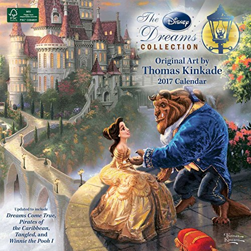 Thomas Kinkade: The Disney Dreams Collection 2017 Wall Calendar -