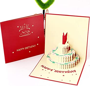 Valentine/'s woodland animals 3-D Card /& plays music  FREE SHIPPING