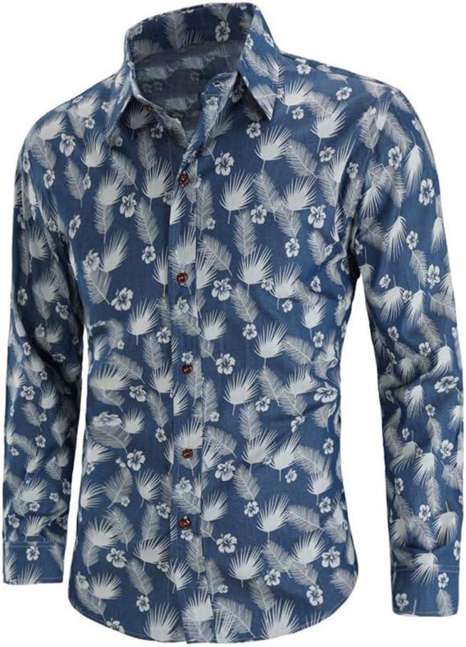 Camisa de los Hombres, Moda Primavera Otoño Camisa Casual de ...