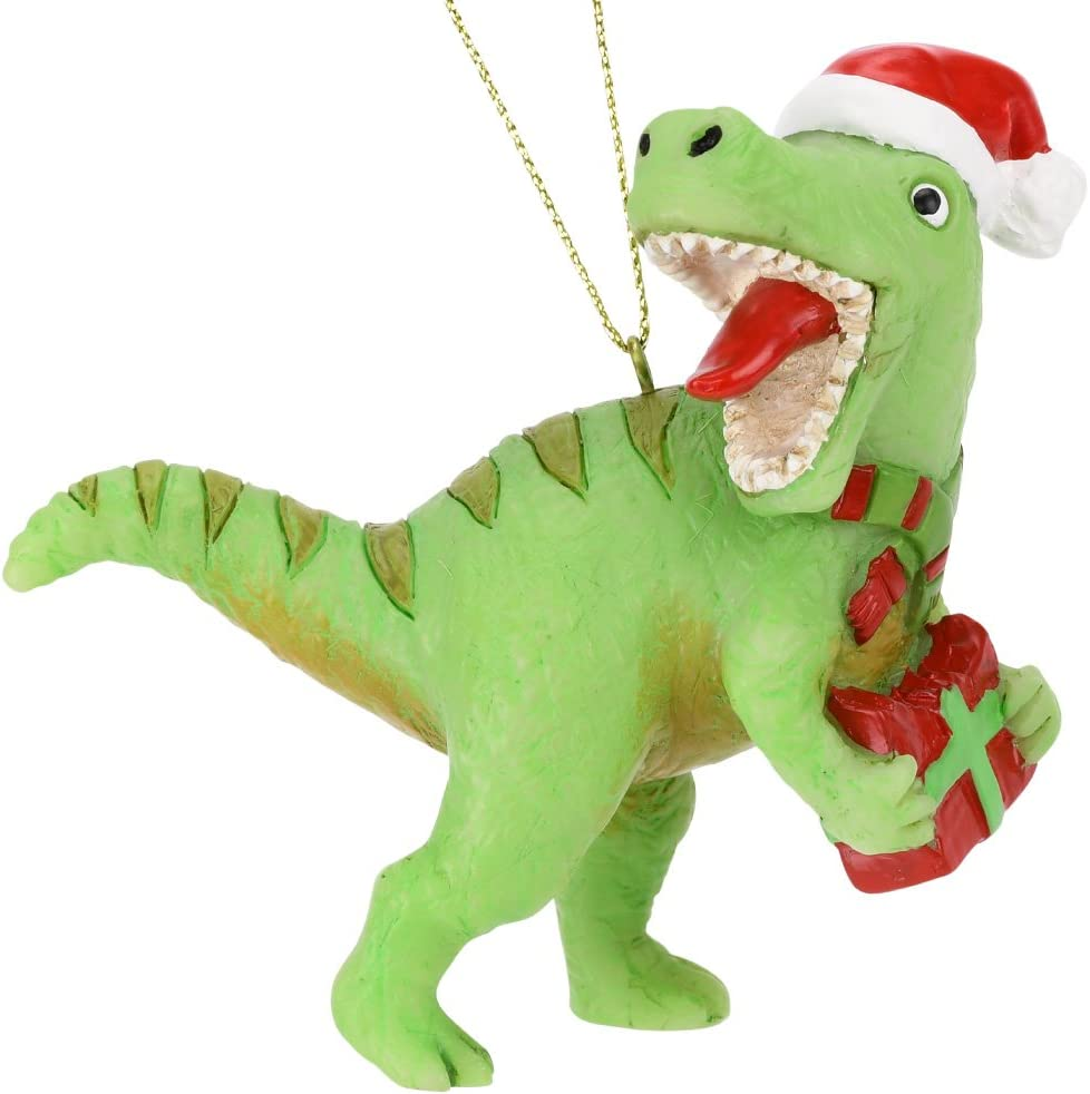 Tree Buddees Xmas Rex Christmas T-Rex Dinosaur Ornament