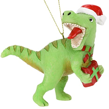 Dinosaur Christmas.Tree Buddees Xmas Rex Christmas T Rex Dinosaur Ornament