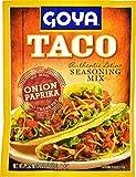 Goya Foods Taco Seasoning Mix, 1.25 Ounce (Pack of 24)