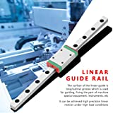 Akozon Linear Guide Rail Block MGN7H 150mm Mini