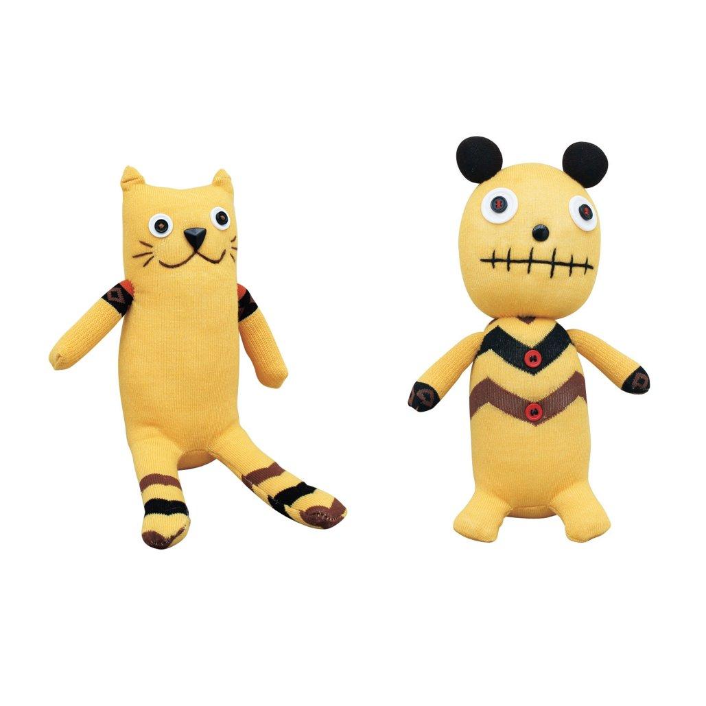 Lulu /& Bobson ACLNY 009243472018 Time Concept No3No4 Sock Doll