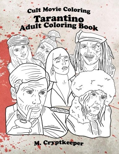 Cult Movie Coloring:  Quentin Tarantino Movie Characters Adu