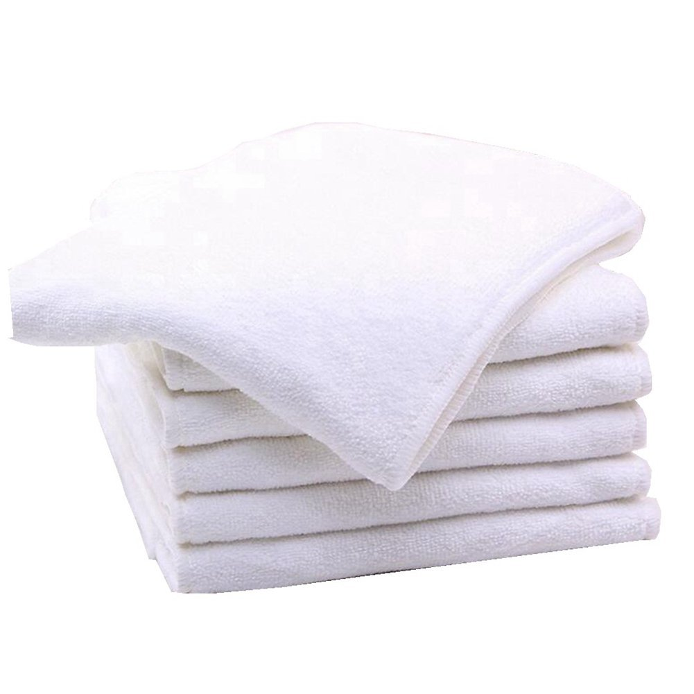 Bamboo Microfiber Inserts Liners for Adults Cloth Diapers for Incontinence Care 2 pieces 4-layer Washable Reusable Large Absorbent