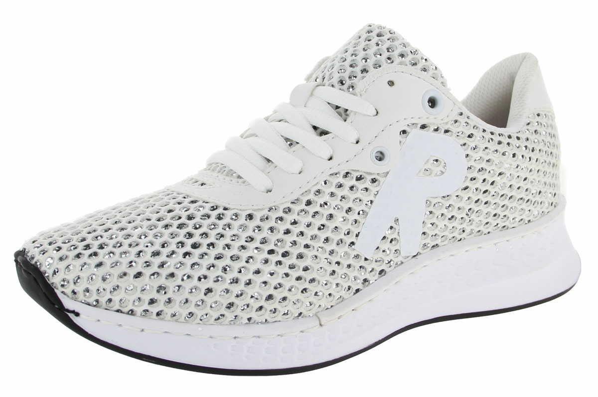 Rieker N5610 80 - Zapatos de Cordones Para Mujer Blanco Weiß 39 EU|Weiß