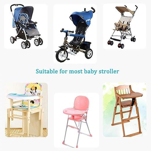 Amazon.com: Cojín para silla de bebé para cochecito/asiento ...