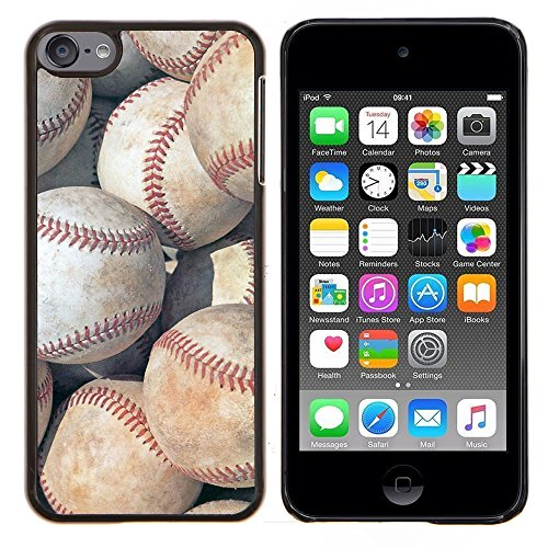 (Graphic4You Baseball Theme Sports Design Hard Case Cover for Apple iPod Touch 6)