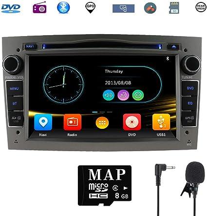 Stereo Home Car Stereo Satellite Gps Navigator Para Opel Unidad Head 7 Pulgadas 2 Din Car Stereo Con Soporte Para Reproductor De Cd Y Dvd Gps Usb Sd Fm Am Rds Bluetooth