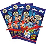 Topps Cricket Attax IPL CA 2017 Multi Combo Pack, Multi Color (Pack of 3)