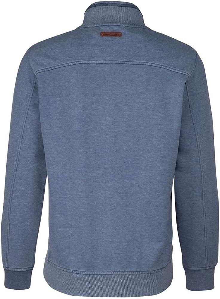 camel active Herren Sweatshirt Blau (Marine Cor 17)