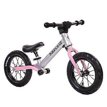 DDTLP Bicicleta de Equilibrio Unisex, Altura del Asiento Ajustable ...